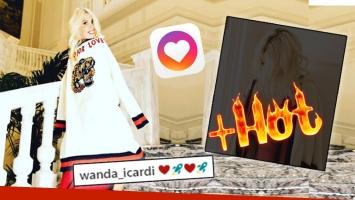 Wanda Nara, súper sexy en una foto sin corpiño