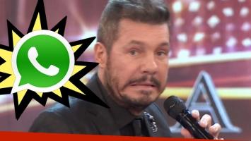 La divertida queja de Tinelli por los grupos de padres del WhatsApp