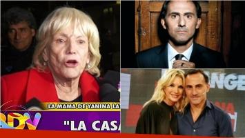 Dora, la madre de Yanina Latorre, polémica sobre la infidelidad de Diego: