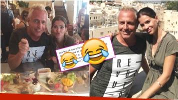La divertida foto de Marley con la China Suárez en Jerusalem (Fotos: Instagram)