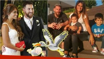¡Bebé en camino! Lionel Messi y Antonella Roccuzzo serán padres por tercera vez