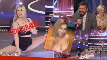 La novia acróbata del bailarín de Yanina Latorre terminó en lolas en ShowMatch