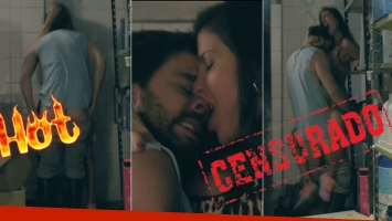 La escena hot de Peter Lanzani y Andrea Rincón en Un gallo para Esculapio