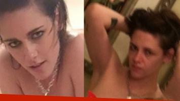 Las fotos hot de Kristen Stewart y su novia Stella Maxwell. (Foto: Twitter)