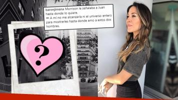 Jimena Barón y la tierna foto de Momo con Del Potro