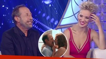 Guillermo Francella y Luisana Lopilato hablaron de su escena de sexo en cine