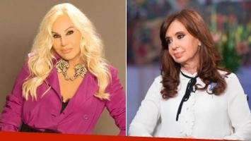 Cristina Kirchner visitaría a Susana Giménez en su programa