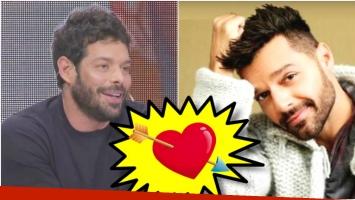 Mariano Caprarola, el panelista de La Jaula de la Moda, confesó que tuvo un romance con Ricky Martin (Fotos: Captura y Web)