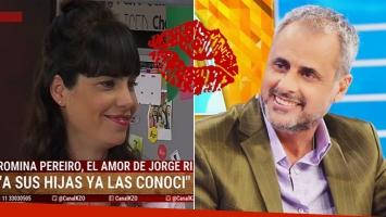 Romina Pereiro y su primer beso con Rial