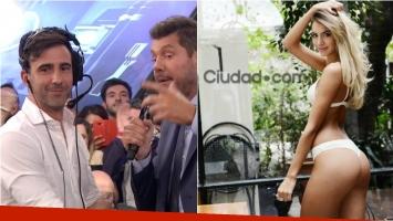 Federico Hoppe habló en ShowMatch de las versiones de affaire con Sofía Fernández, una de las azafatas de Guido Kaczka