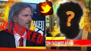 Facundo Arana habló de su encuentro con el famoso… ¡que lo tiene bloqueado en Twitter!