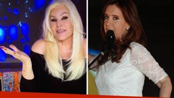 Susana Giménez no está interesada en entrevistar a Cristina Fernández de Kirchner. (Foto: Twitter)