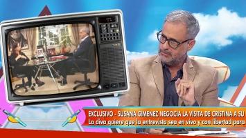 Rial reveló la única condición que tuvo para la entrevista con Cristina Kirchner