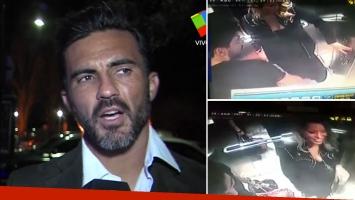 Fabián Cubero, picante por la filtración del video en el ascensor de Nicole Neumann y Facundo Moyano
