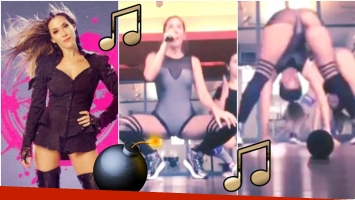 Jimena Barón incendió Instagram con un video bailando súper sexy (Fotos: Instagram y Captura de video de Instagram)