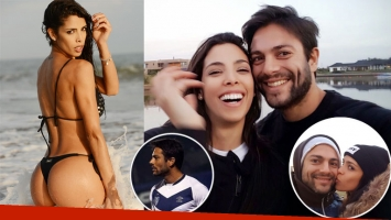 Maypi Delgado y Santiago Ladino conviven a tan sólo dos meses de noviazgo. (Foto: Ciudad)