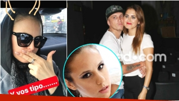 La picante foto de Silvina Luna tras los rumores de infidelidad del Polaco con Barby Silenzi (Fotos: Ciudad Magazine y Captura de Instagram Stories)