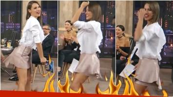 El baile súper sexy de Pampita (Fotos: Captura)