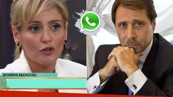 Romina Manguel habló de la renuncia de Feinmann, tras su pelea en vivo