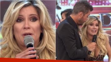 Laurita Fernández rompió en llanto cuando le dijeron que no saludaba a los camarógrafos en ShowMatch