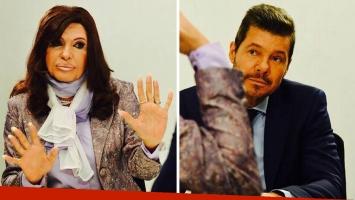 Martín Bossi se personificó de Cristina Kirchner para la entrevista con Marcelo Tinelli. Foto: Facebook.