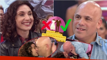 Bicho Gómez mandó al frente a su novia Vero Pecollo en ShowMatch: