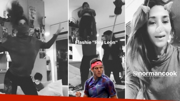 El festejo de Jimena Barón en Instagram Stories por el épico triunfo de Juan Martín del Potro en el US Open