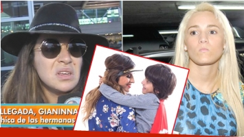 La tremenda frase de Gianinna Maradona a Rocío Oliva (Fotos: Captura, Web e Instagram)