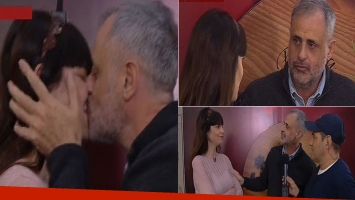 La primera nota de Jorge Rial junto a Romina Pereiro en TV
