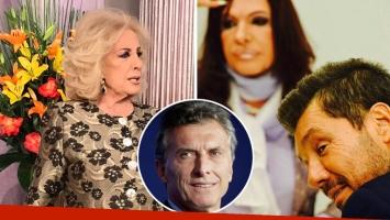 Mirtha Legrand, durísima con Mauricio Macri y Marcelo Tinelli por el sketch de Cristina