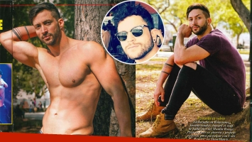 Leandro Nimo reveló que está de novio con un ingeniero. Foto: revista Pronto e Instagram.