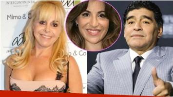 La fuerte declaración de Gianinna Maradona sobre los sentimientos de su papá hacia Claudia Villafañe