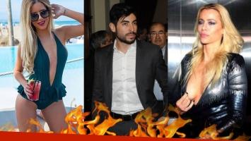 Facundo Moyano, Celia Fuentes y Nicole Neumann