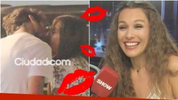 Pampita reveló cómo fue el primer beso con Pico Mónaco (Fotos: Ciudad Magazine y Captura)