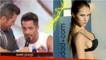 Francisco Delgado a Barby Silenzi en ShowMatch: