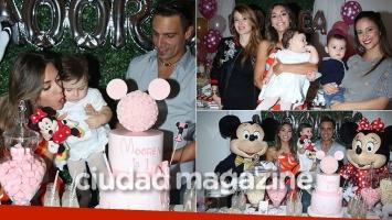 La hija de Floppy Tesouro cumplió un año y lo celebraron con todo (Foto: Movilpress)