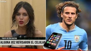 "Zaira Nara reveló cómo le ""robó"" la clave del celular a Diego Forlán"