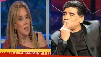 Marcela Tinayre, durísima con Maradona por sus declaraciones contra Mirtha: