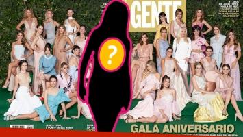 El llanto de Natalie Pérez en la fiesta de la revista Gente: