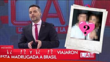 ¡Impensada reconciliación! De Brito reveló el viaje secreto de Silvina Luna y el Polaco a Brasil