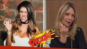 Florencia Zaccanti contra Evelyn von Brocke. (Foto: Instagram y TV)