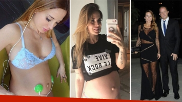 Jésica Cirio, a menos de dos meses de dar a luz a Chloe. (Foto: Instagram)