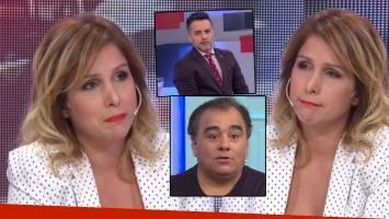 La elocuente cara de Fernanda Vives