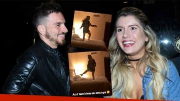 Fede Bal escrachó a Laurita Fernández, bailando arriba de la cama en su estadía en Punta del Este