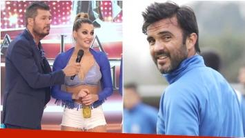 La reacción de Mica Viciconte cuando le preguntaron por su relación con Fabián Cubero (Fotos: Captura y Web)