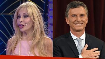 Graciela Alfano y Mauricio Macri