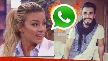 El enojo de Ailén Bechara porque Fernando Bertona mostró chats privados: