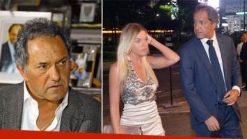 Daniel Scioli habló de su crisis de pareja con Gisela Berger. (Foto: editorial Perfil)