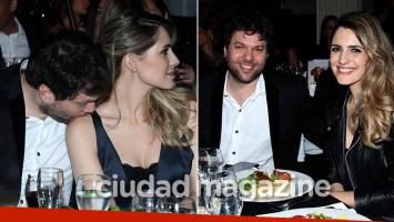 Guido Kaczka, súper mimoso con Soledad Rodríguez en una cena benéfica (Foto: Movilpress)