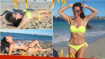 Las fotos súper sexies de Mora Godoy en las playas de Ibiza (Fotos: We Prensa y Comunicación)
